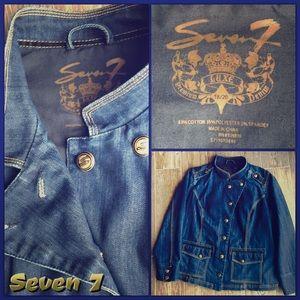 Seven7 Jackets & Blazers - ⤵️😳Amazing Seven 7, Luxe Retro Jacket SZ Large❗️