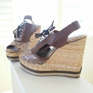 Sam Edelman wedge slingback 7.5