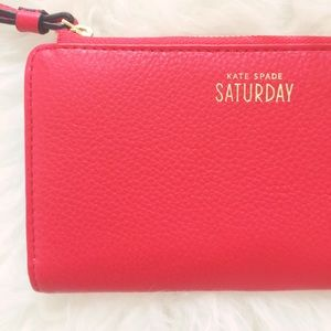 Kate Spade Saturday Red Wallet