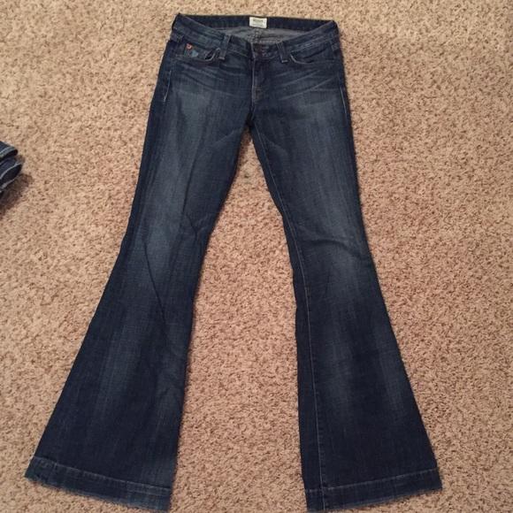 90% off Hudson Jeans Denim - Hudson Bell Bottom Jeans from ...