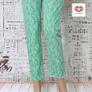 🌟HP. J. Crew TOOTHPICK FLORAL SKINNY PANT