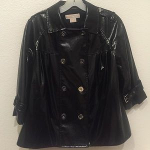 Michael Kors Black Lightweight Jacket