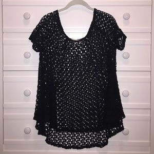 'Staring at Stars' Black Blouse