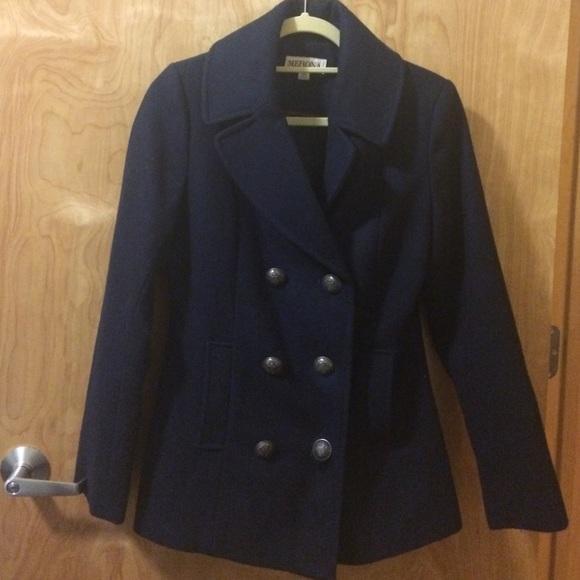 be0d093d4b9 Merona jackets coats must sell this week navy pea coat poshmark jpg 580x580  Navy pea coats