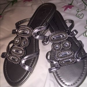 Chinese Laundry Shoes - Silver sandals from Chinese Laundry