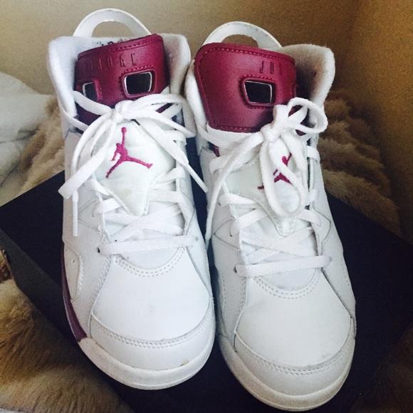 Jordan Shoes Maroon 6s Size 3y Poshmark