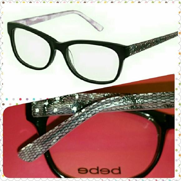 75% off bebe Accessories - BEBE eyeglass frames ...