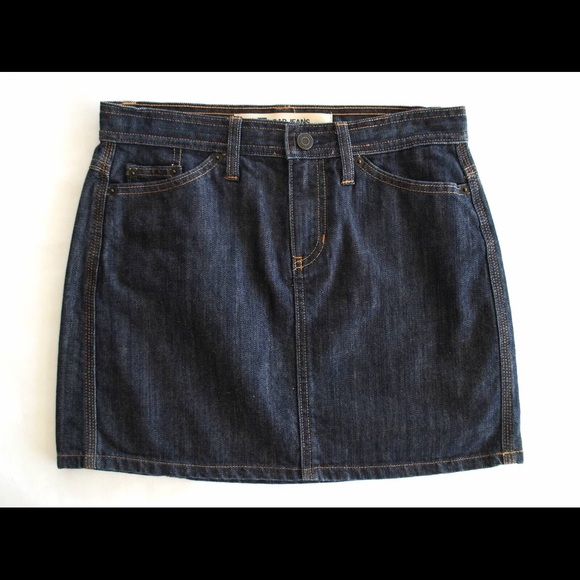 gap gap denim skirt size 2 new no tags from fashionable