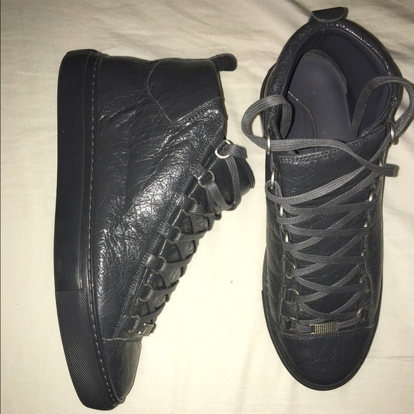 Balenciaga High-Top Sneakers ARENA lambskin