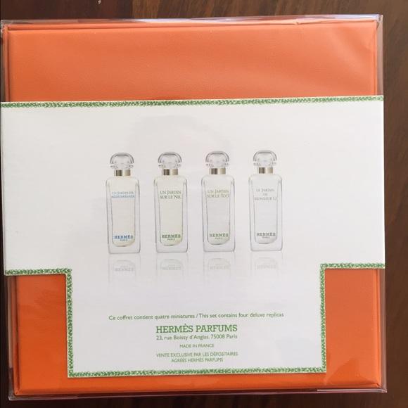 Parfums X7 Nwt Collection 4 Jardins 5 Hermes La Des Ml FJ1TKlc3