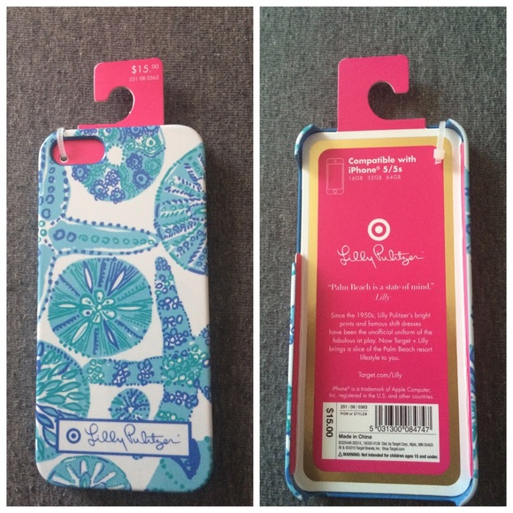 new product cce7a e4255 NWT Lilly for Target iPhone 5/5s cover! NWT