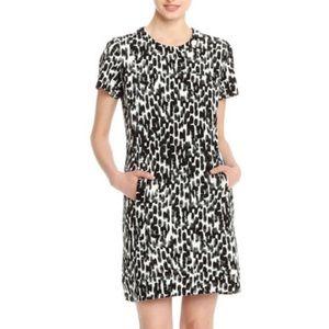 Joe Fresh Brushstroke Shift Dress Size Small