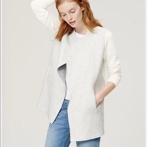LOFT Colorblocked Cardigan Sweater Size XS