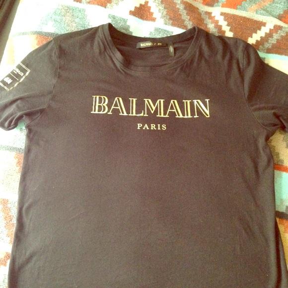 balmain x hm t shirt