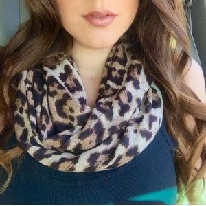 Accessories - Brown Leopard Infinity Scarf (LAST ONE!)