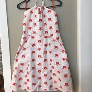 Anthropologie Large Halter Sun Dress by Tulle