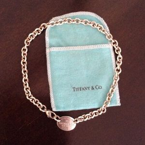 Vintage Tiffany Chain Choker Necklace