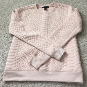 Forever 21 Tops - Pink Forever 21 Sweatshirt