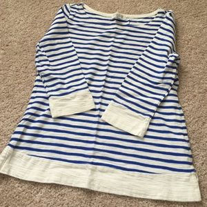 Forever 21 Tops - Blue Striped Forever 21 Top