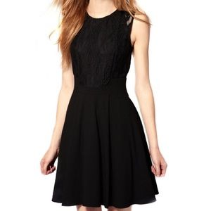 Dress, Black Rockabilly Lace