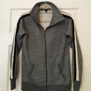 J. Crew Piped Funnel Neck Sweatshirt Size XXS