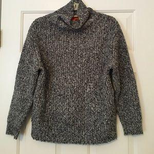 Joe Fresh Funnel Neck Shaker Knit Sweater XS