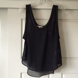 LAmade Tops - Sheer Tank Top