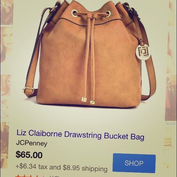 38a7b158d9f9 Liz Claiborne Handbags - Liz Claiborne bucket bag