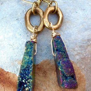 """Beltshazzar Jewelry Jewelry - Beltshazzar """"Luxor Stone"""" Earrings"""
