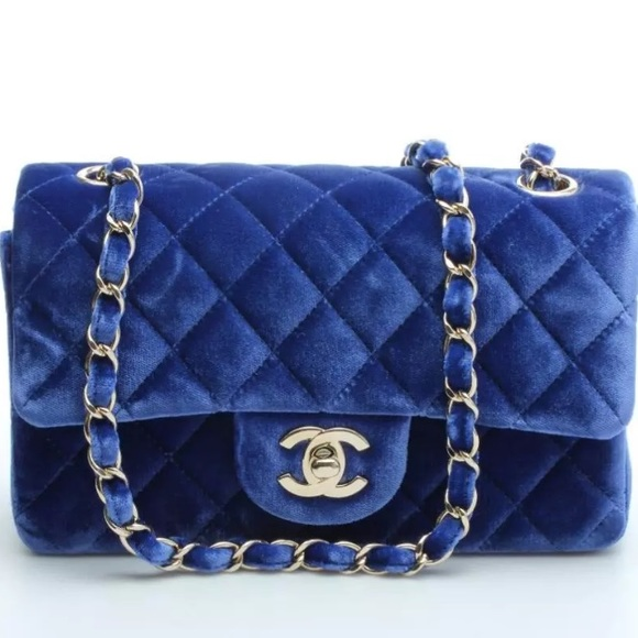 3% off CHANEL Handbags - Chanel velvet mini bag from Anoud ...
