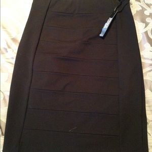 Brand new, black instantly slimming pencil skirt