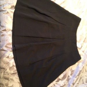 Brand new black drape skirt