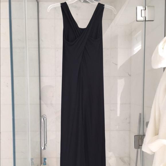 Club monaco black maxi dress