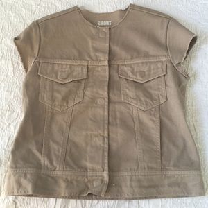 Maison Martin Margiela Tops - Maison Martin Margiela khaki jacket
