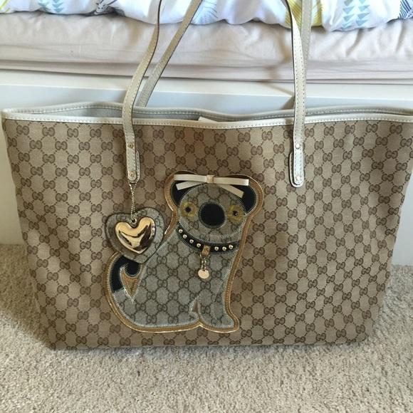 960314ea3d11 Gucci Bags | Oliver Pug Tote | Poshmark