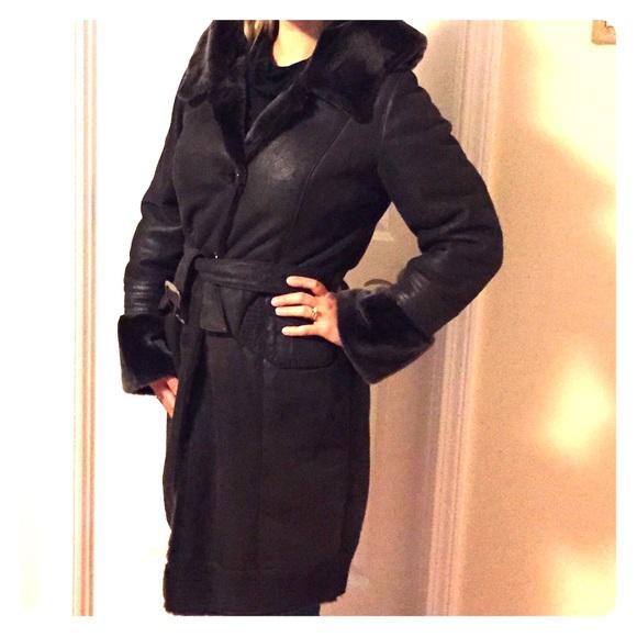 51% off Jackets &amp Blazers - 100% genuine lambskin shearling coat