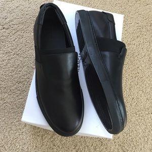 Balenciaga black slip on women's sneakers 41