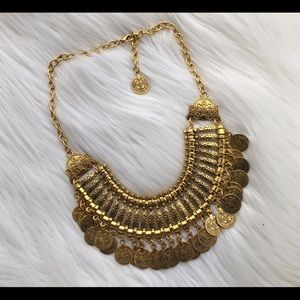 Turkish gold coin necklace Boutique