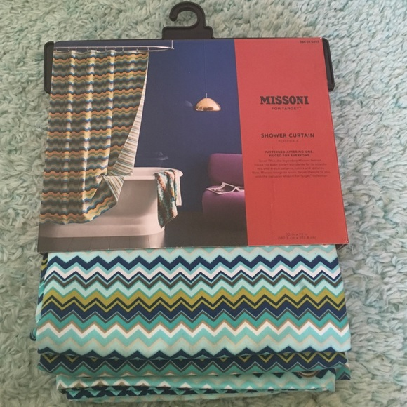 50% off Missoni Accessories - Missoni reversible shower curtain ...