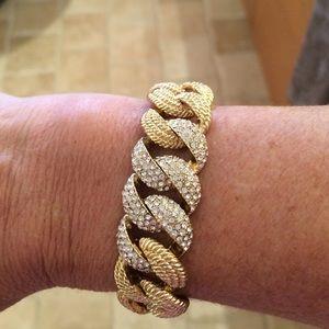 Jewelry - Gold plated, cz bracelet