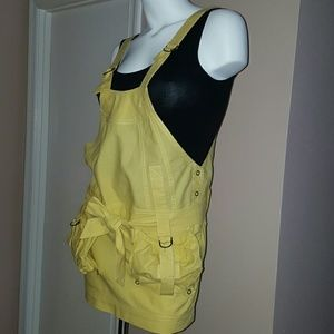 Yellow Overall Skirt by See by Chloe