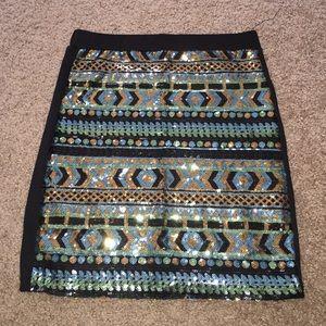 Small sequin skirt