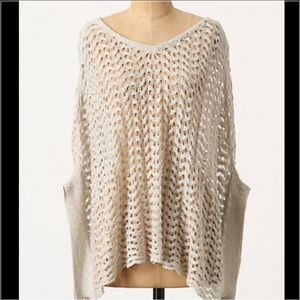 Anthropologie sparrow poncho