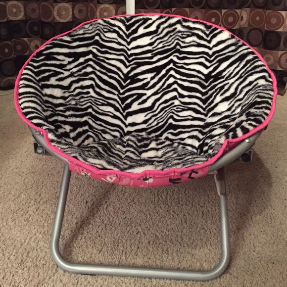 Peachy Zebra Circle Chair Caraccident5 Cool Chair Designs And Ideas Caraccident5Info