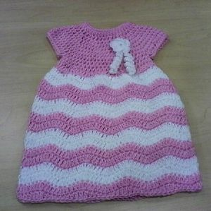 Dresses & Skirts - Crochet Baby Dress
