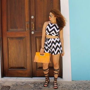 Tops - Chevron 2 piece set