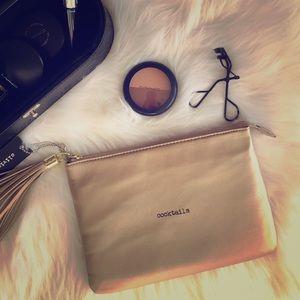 Olivia + Joy Handbags - Gold Clutch