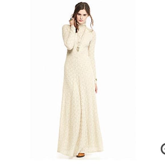 a9b83848869 NWT - Free People White River Maxi Dress