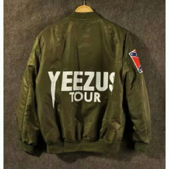 Yeezy bomber jacket