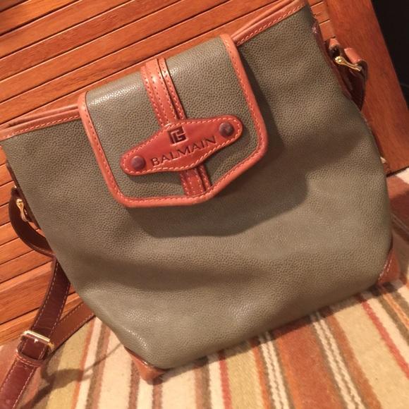 956f2050675 Balmain Handbags - Balmain leather bag, vintage⭐️